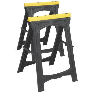 Do it 22-1/2 In. L Plastic Folding Sawhorse (2-Pack)